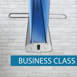 Double sided business pullup banner