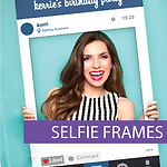 Fun and affordable Selfie Frames