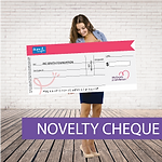 Giant cheques, Novelty cheques