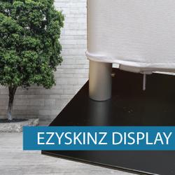 EzySkinz - Displays - Frame, Fitting