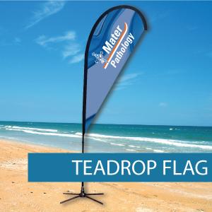 Teardrop Flags Small