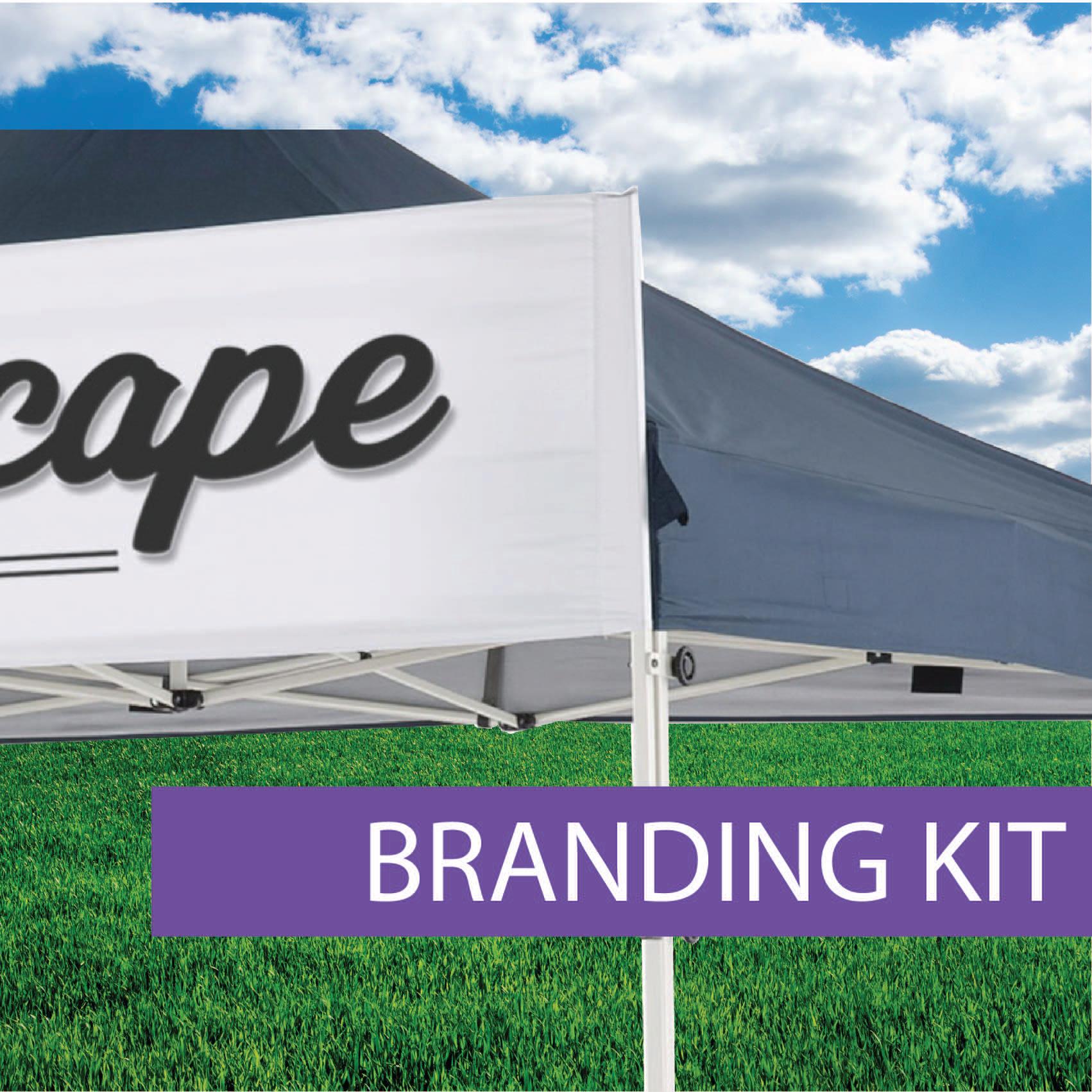 Oztrail Marquee branding kit