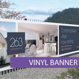 Outdoor media - Vinyl Banner 14