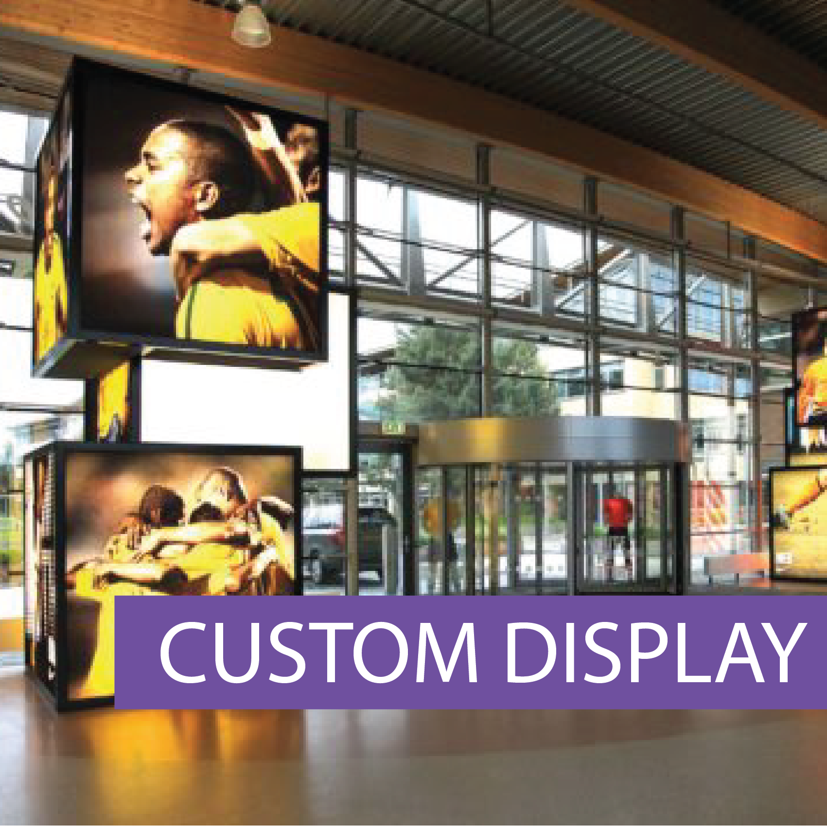 Matrix Frame custom displays