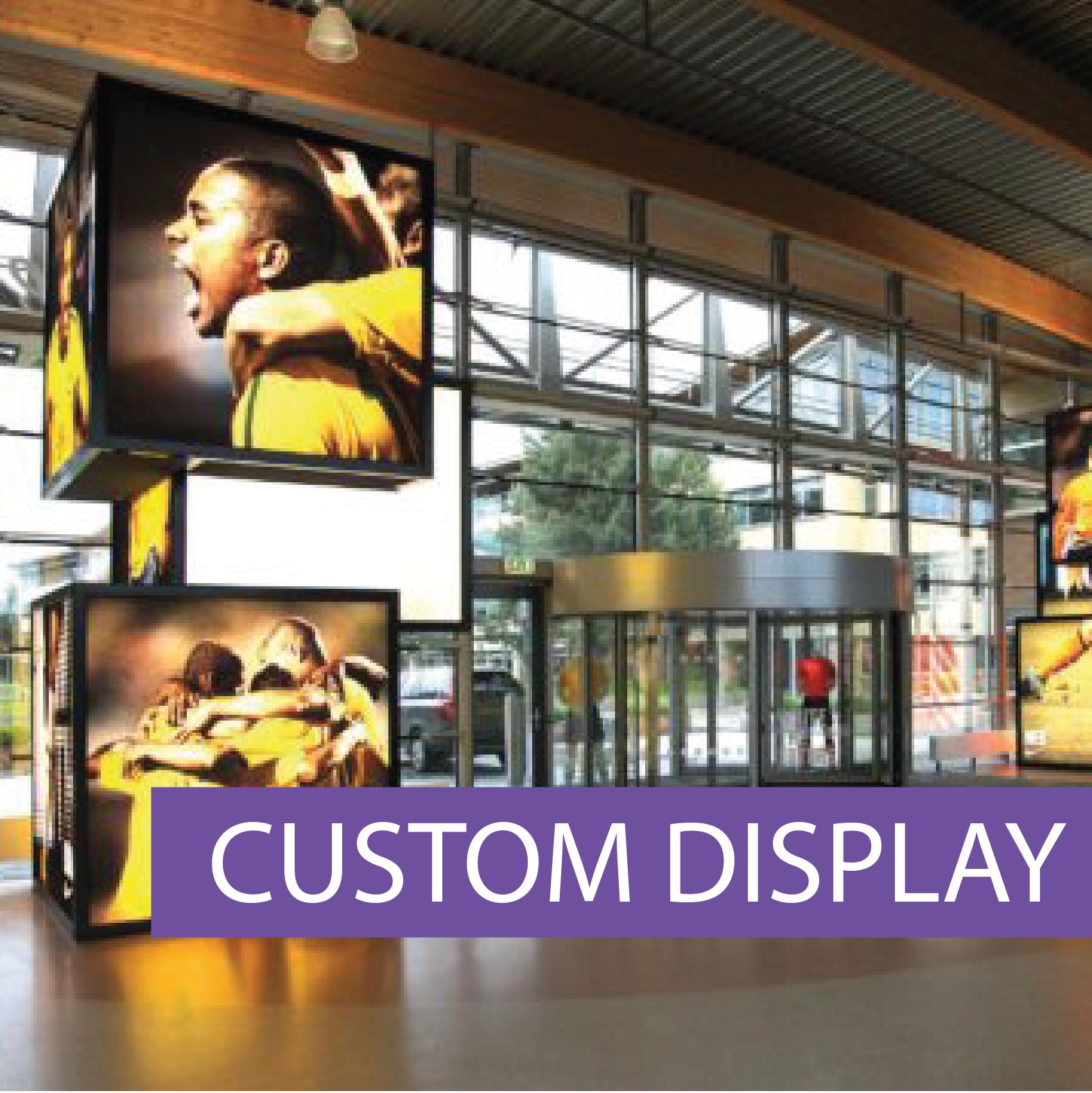 Matrix Frame custom displays