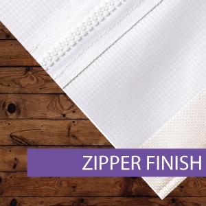 Outdoor Banner - Finishing Options - Zip