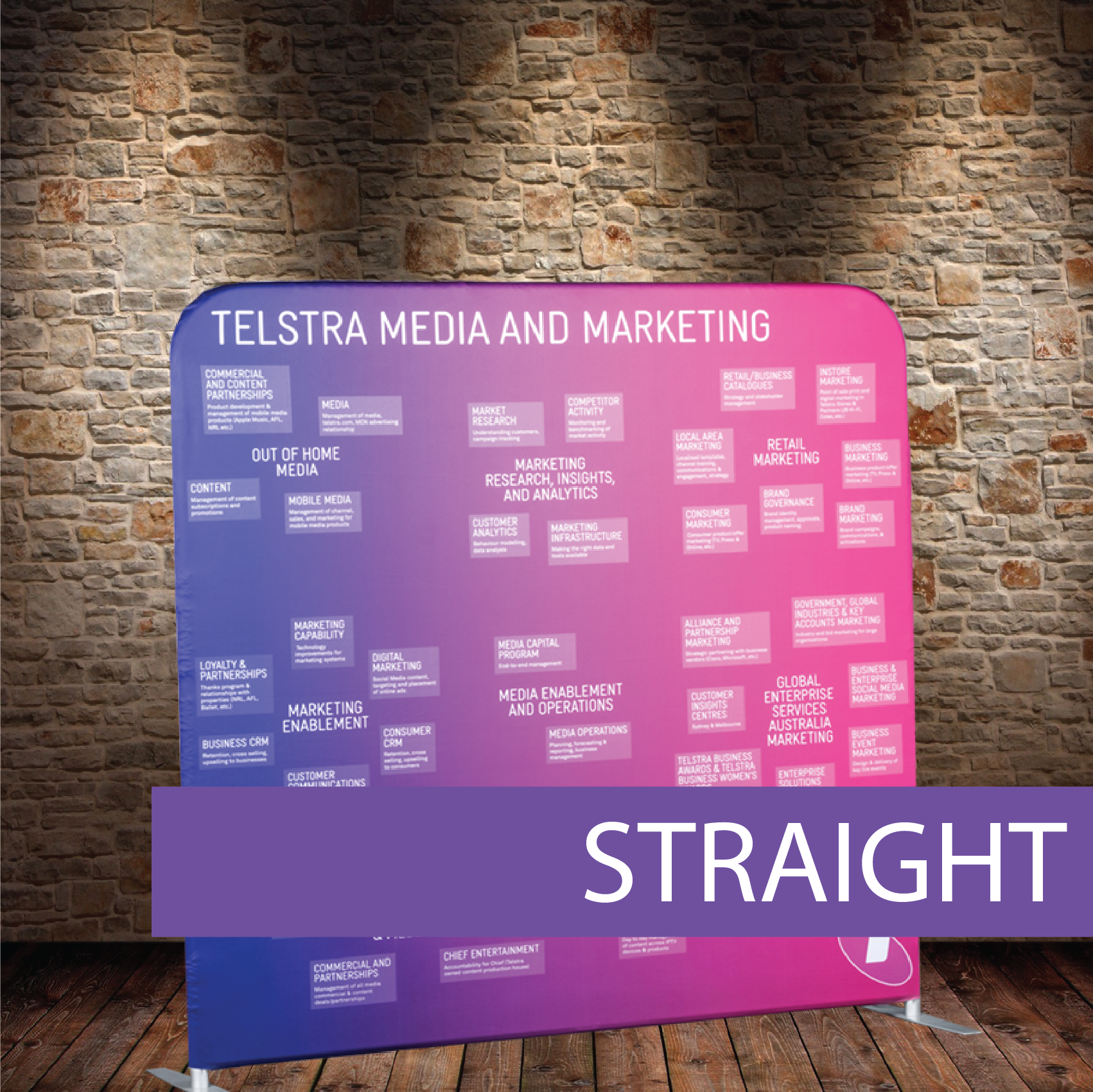 Telstra Media Wall