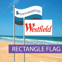 Top of pole flags