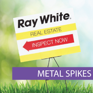 Metal Spikes Ray White