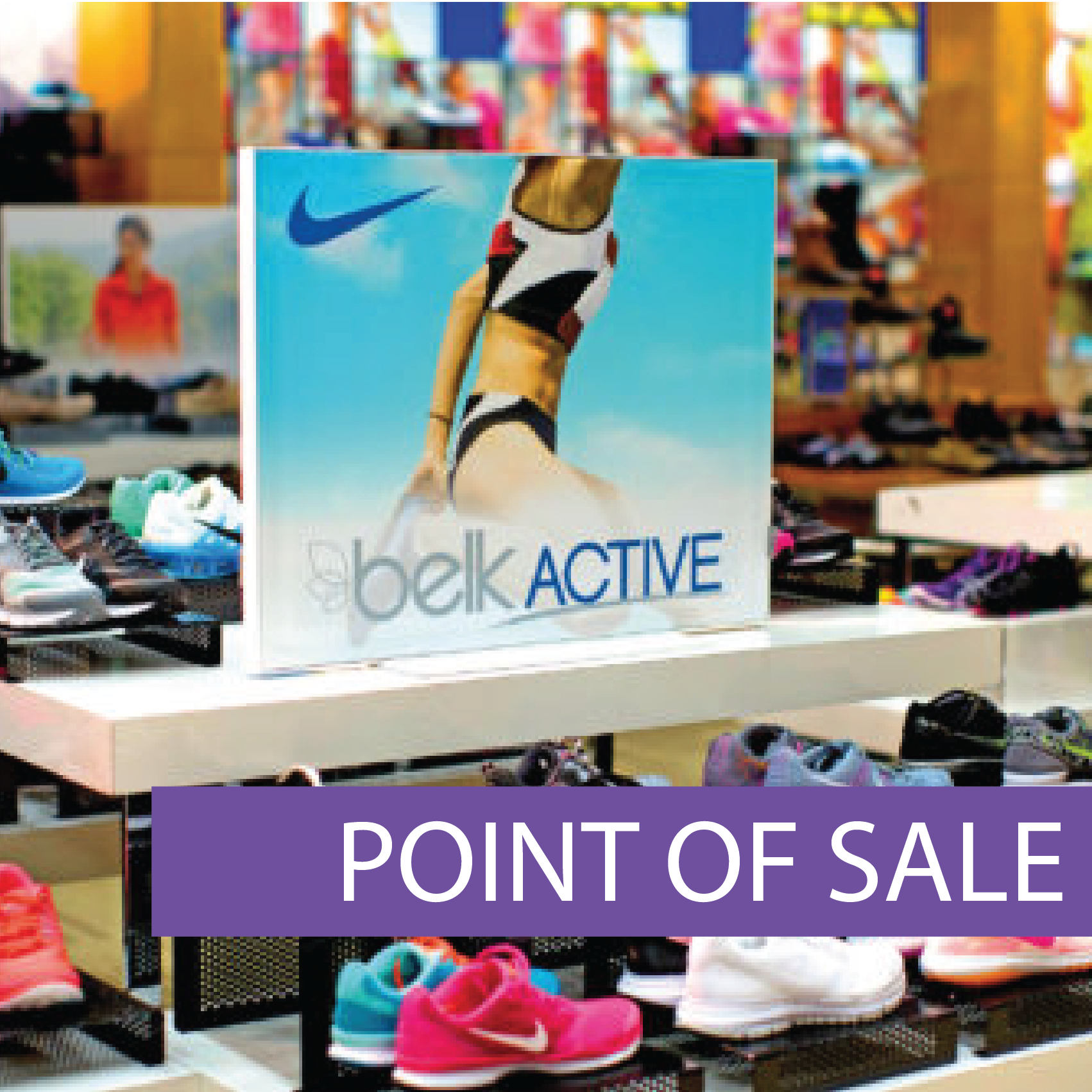 Frameless Point Of Sale Displays