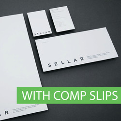 With Compliment Stationery