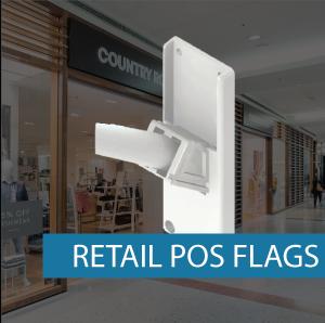 Retail POS Flag Attachment