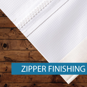 Outdoor Media - Finishing - Zipper Finis
