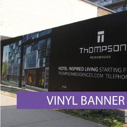 Outdoor media - Vinyl Banner 12