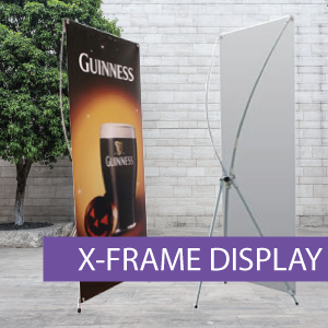 Portable Displays - X-Frame - BW 3