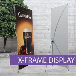 Portable Displays - X-Frame - BW 3