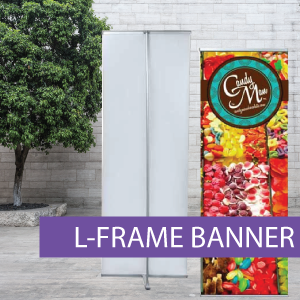 Portable Displays - L-Banner - BW 6