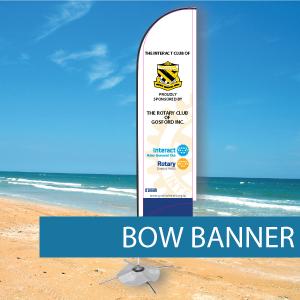 Flags - Bow Banner - BM 3