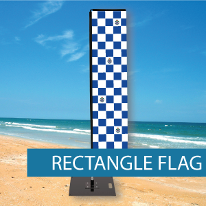 Extra large Rectangle Flag