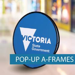 A-Frames - Pop-up A-Frame - VIC GVT