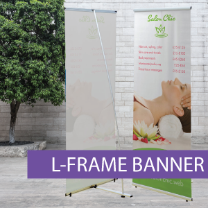 Portable Displays - L-Banner - BW 1