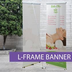 Portable Displays - L-Banner - BW 1