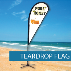 Flags - Teardrop Flags - BM 3