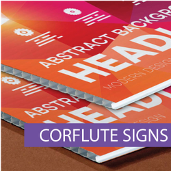 Real Estate Corflute Signs