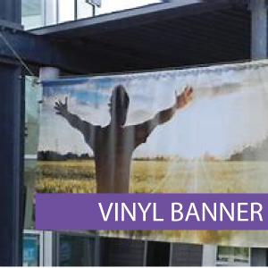 Outdoor media - Vinyl Banner 3