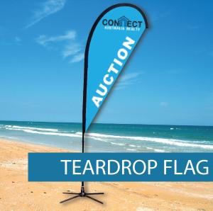 Teardrop Flags Medium