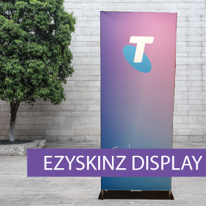 EZYSKINZ - Display Stand - Telstra