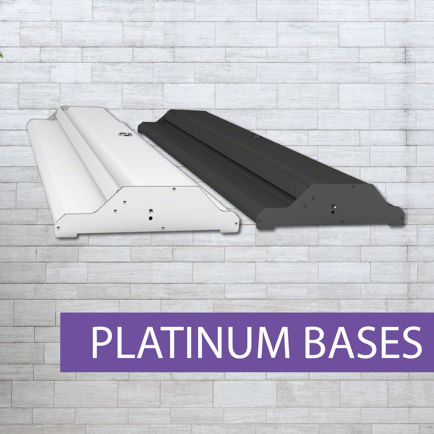 Platinum Pull-up banner bases