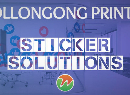 WOLLONGONG PRINTING - CUSTOM STICKER SOLUTIONS