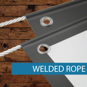 Outdoor Media - Finishing - Welded Rope.