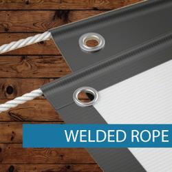 Outdoor Media - Finishing - Welded Rope.
