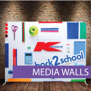Media Wall, Fabric Media Wall, Tension F