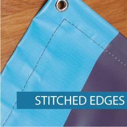 Outdoor Media - Finishing - Stitched Edg