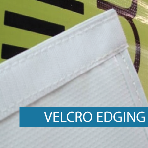 Outdoor Media - Finishing - Velcro Edgin