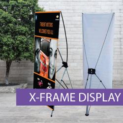 Portable Displays - X-Frame - BW 4