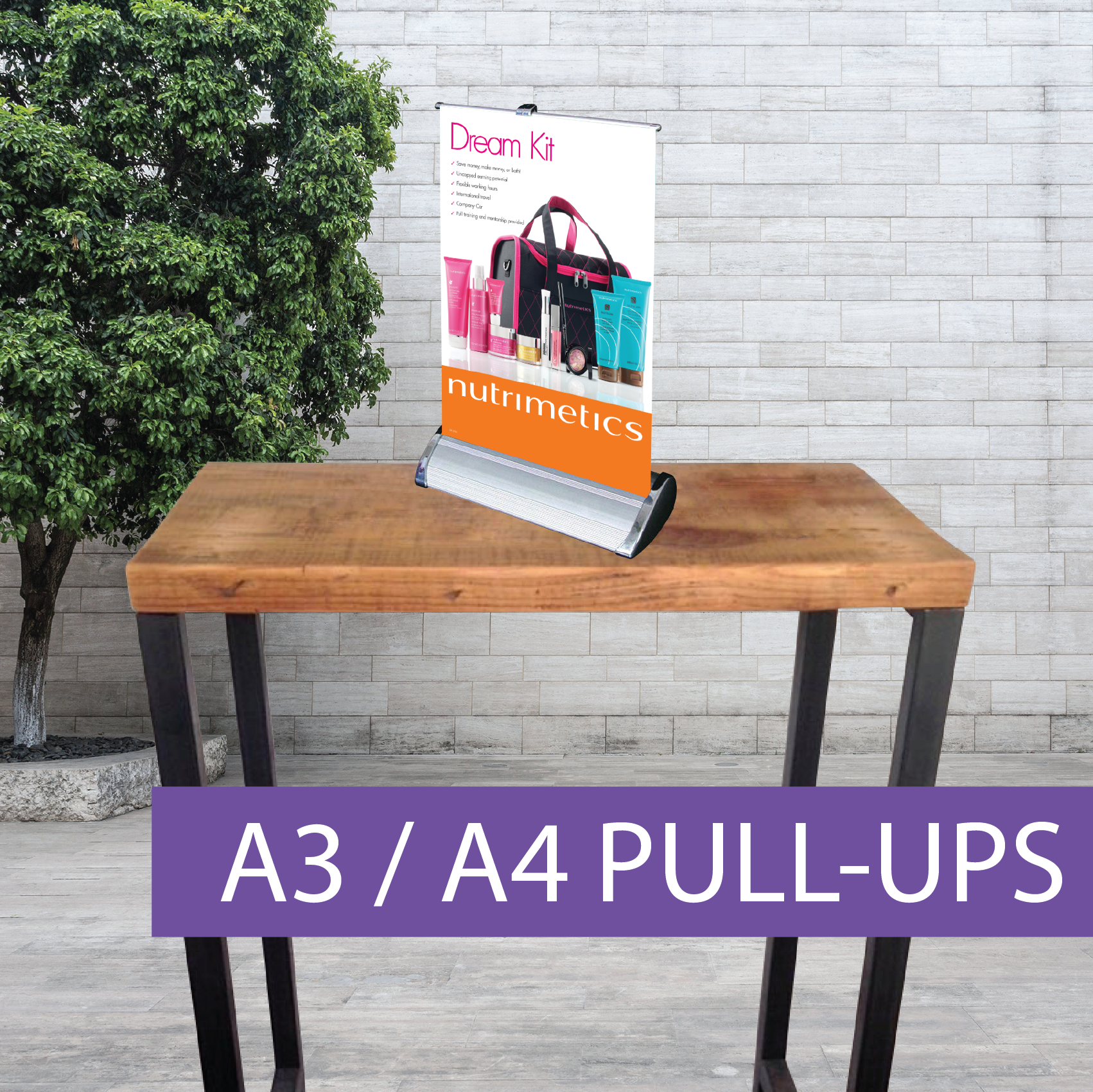 A3 Pull-up banner