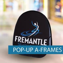 A-Frames - Pop-up A-Frame - Fremantle Da