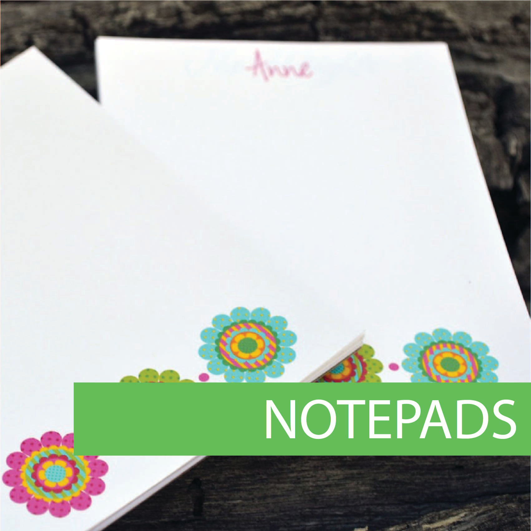 Company notepads