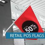 Shop front flags