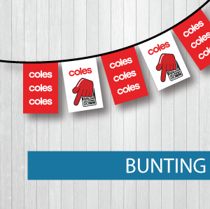 Bunting Service Coles