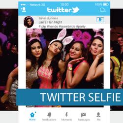 Corflute - Selfie Frames - Twitter