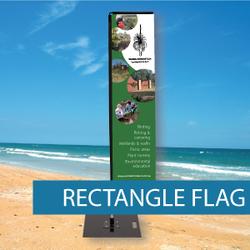 Flags - Rectangle Flags - BM 2