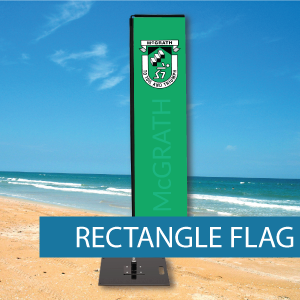 Medium Rectangle Flag