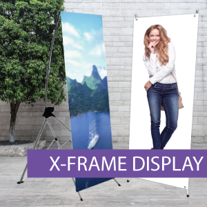Portable Displays - X-Frame - BW 2