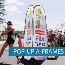 A-Frames - Pop-up A-Frame - Marathon