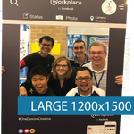 Corflute - Selfie Frames - Large - 1200x